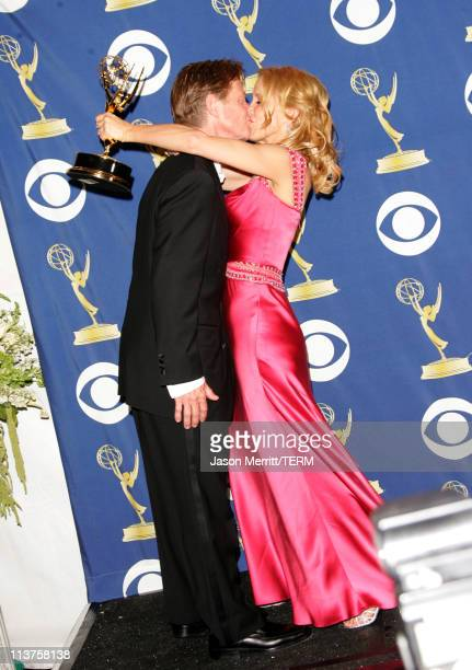 Felicity Huffman winner Outstanding Lead Actress in a Comedy Series for 'Desperate Housewives' and husband William H Macy