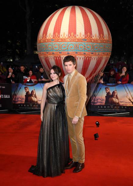 "GBR: ""The Aeronauts"" UK Premiere - 63rd BFI London Film Festival"