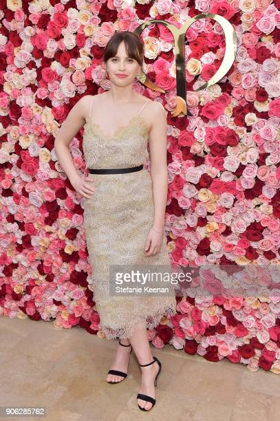Felicity Jones attends Cle de Peau Beaute Celebrates the Brand Relaunch with a Global Event in Los Angeles hosted by Global Brand Face Felicity Jones...