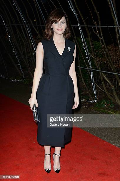 Felicity Jones attends the EE British Academy Awards nominees party at Kensington Palace on February 7 2015 in London England