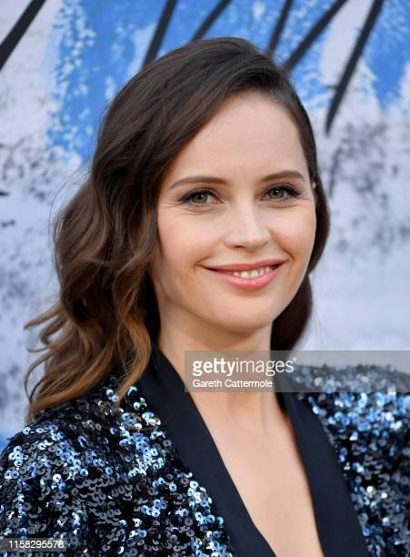 Felicity Jones attends The Summer Party 2019 Presented By Serpentine Galleries And Chanel at The Serpentine Gallery on June 25 2019 in London England