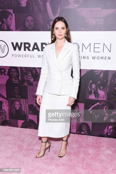 Felicity Jones attends TheWrap's Power Women Summit-Day 2 at InterContinental Los Angeles Downtown on November 01, 2018 in Los Angeles, California.