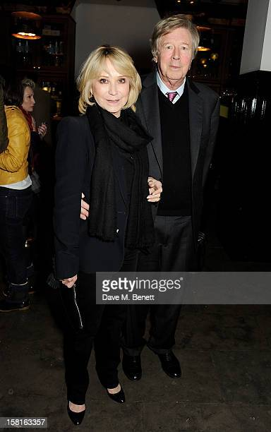 Felicity Kendal and Michael Rudman attend an after party celebrating the press night performance of the Michael Grandage Company's debut production...