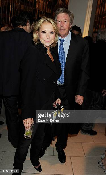 Felicity Kendal and Michael Rudman attend an after party following press night of the new West End production of Simon Gray's Butley at Axis at One...