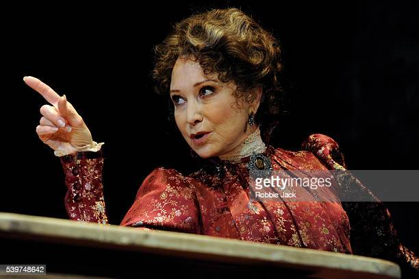 Felicity Kendal as Mrs Warren in the production of George Bernard Shaw's Mrs Warren's Profession directed by Michael Rudman at the Comedy Theatre in...