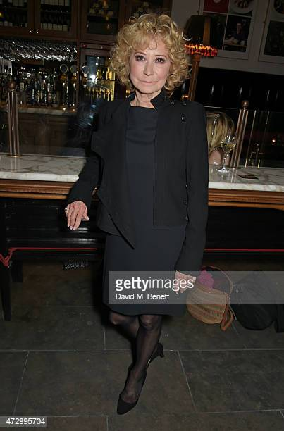 Felicity Kendal attends an after party following the press night performance of Hay Fever at the The National Cafe on May 11 2015 in London England