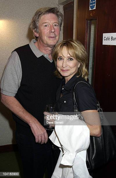 Felicity Kendall Michael Rudman Jerry Hall Celebrated The First Night Of Her New Play Benchmark At The New End Theatre In Hampstead London