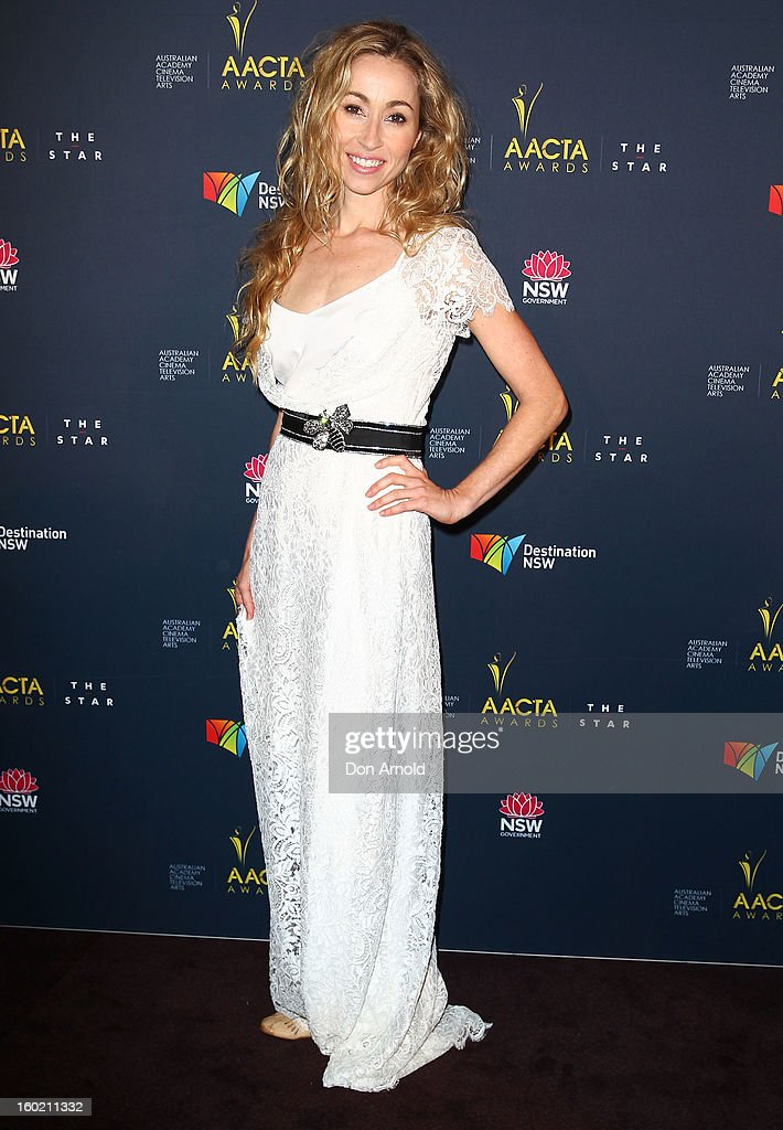 Felicity Price poses during the 2nd Annual AACTA Awards Luncheon at The Star on January 28, 2013 in Sydney, Australia.