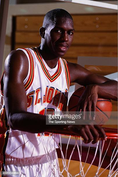 Feliepe Lopez of the St. Johns Red Storm poses for a photo on January 1, 1994.