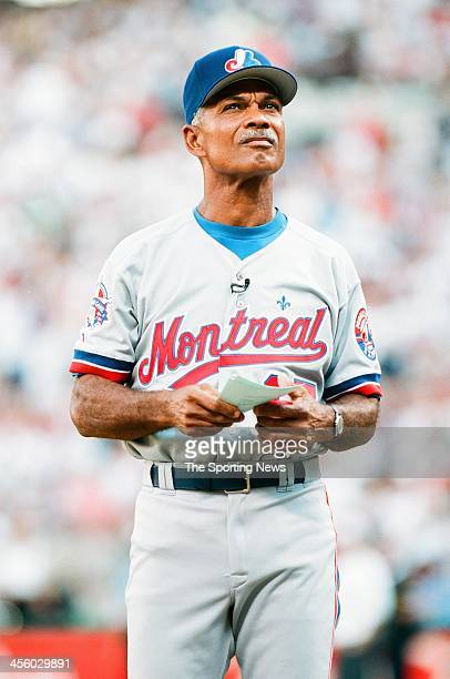 Felipe Alou of the Montreal Expos during the 1995 All Star Weekend on July 10 1995 at The Ballpark at Arlington in Arlington Texas