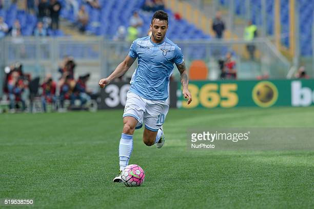 Felipe Anderson during the Italian Serie A football match between SS Lazio and AS Roma at the Olympic Stadium in Rome on april 03 2016