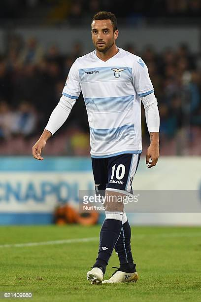 Felipe Anderson of SS Lazio during the Serie A Tim match between SSC Napoli and SS Lazio at Stadio San Paolo Naples Italy on 5 November 2016