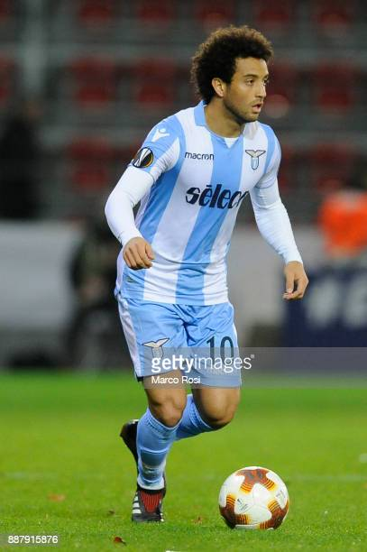 Felipe Anderson of SS Lazio during the UEFA Europa League group K match between SV Zulte Waregem and SS Lazio at Regenboogstadion on December 7 2017...