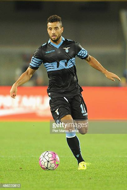 Felipe Anderson of SS Lazio in action during the Serie A match between AC Chievo Verona and SS Lazio at Stadio Marc'Antonio Bentegodi on August 30...