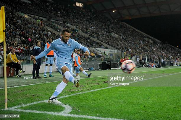 Felipe Anderson of SS Lazio in action during the Serie A match between Udinese Calcio and SS Lazio at Stadio Friuli on October 1 2016 in Udine Italy