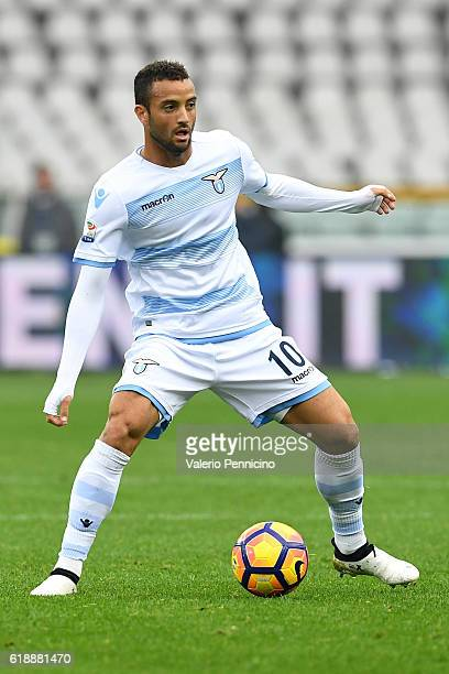 Felipe Anderson of SS Lazio in action during the Serie A match between FC Torino and SS Lazio at Stadio Olimpico di Torino on October 23 2016 in...