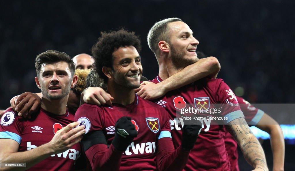 West Ham United v Burnley FC - Premier League : Nachrichtenfoto