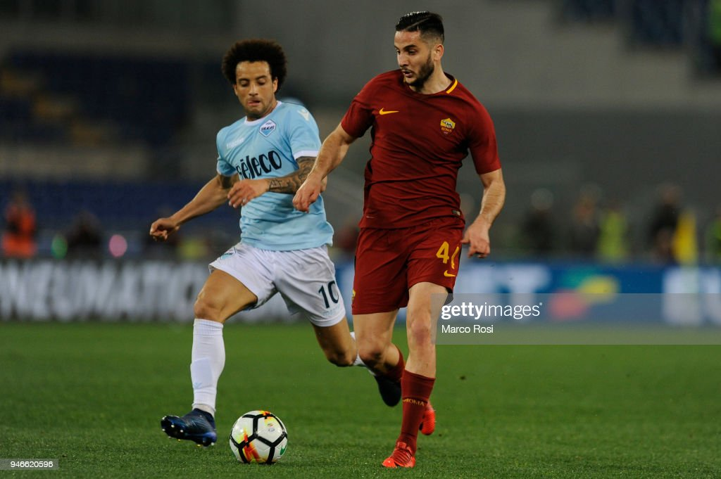 SS Lazio v AS Roma - Serie A : News Photo