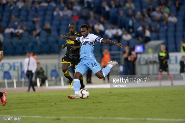 Felipe Caicedo during the Italian Serie A football match between SS Lazio and Frosinone at the Olympic Stadium in Rome on september 02 2018