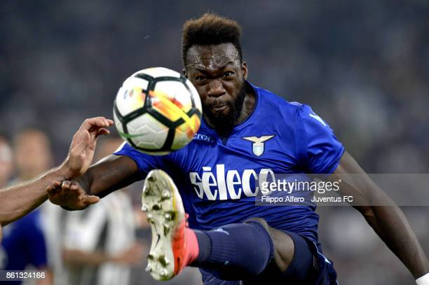 Felipe Caicedo of Lazio in action during the Serie A match between Juventus and SS Lazio on October 14 2017 in Turin Italy