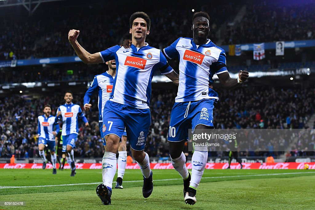 RCD Espanyol v Real Sporting de Gijon - La Liga : News Photo