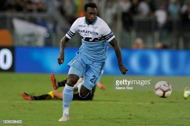 Felipe Caicedo of SS Lazio during the serie A match between SS Lazio and Frosinone Calcio at Stadio Olimpico on September 2 2018 in Rome Italy