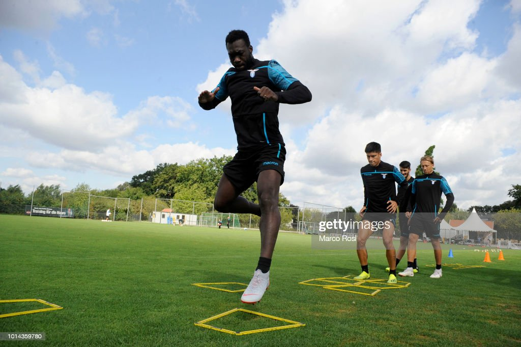 Felipe Caicedo of SS Lazio during the SS Lazio training session on August 10, 2018 in Marienfeld, Germany.