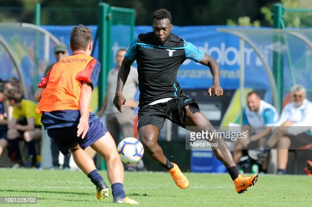 Felipe Caicedo of SS Lazio in action during the preseason friendly match between SS Lazio and Auronzo di Cadore on July 18 2018 in Auronzo di Cadore...