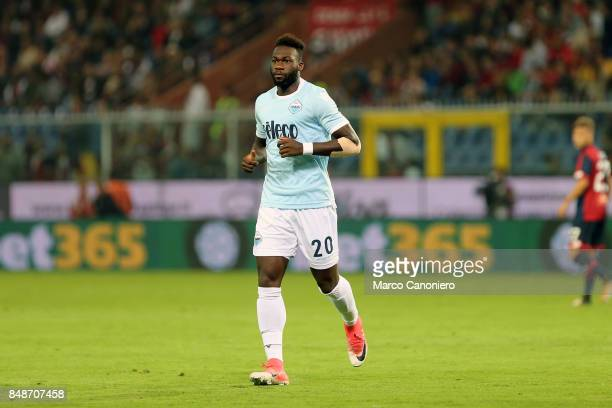 Felipe Caicedo of SS Lazio in action during the Serie A football match between Genoa CFC and SS Lazio SS Lazio wins 32 over CFC Genoa