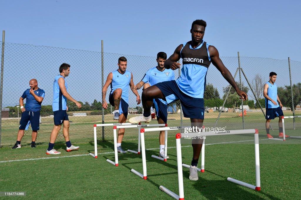 SS Lazio Training Session : News Photo