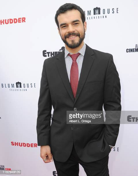 Felipe De Lara attends the 6th Annual Etheria Film Showcase held at American Cinematheque's Egyptian Theatre on June 29 2019 in Hollywood California