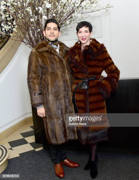 Felipe Escalante and Amy Fine Collins attend Before the Fall German and Austrian Art of the 1930s opening reception at the Neue Galerie on March 9...