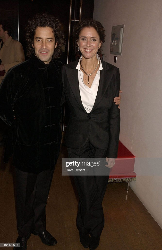 Felipe Fernande Del Posa And Julie Taymor, 'Frida' Premiere After Party At Haunch Of Venison, London
