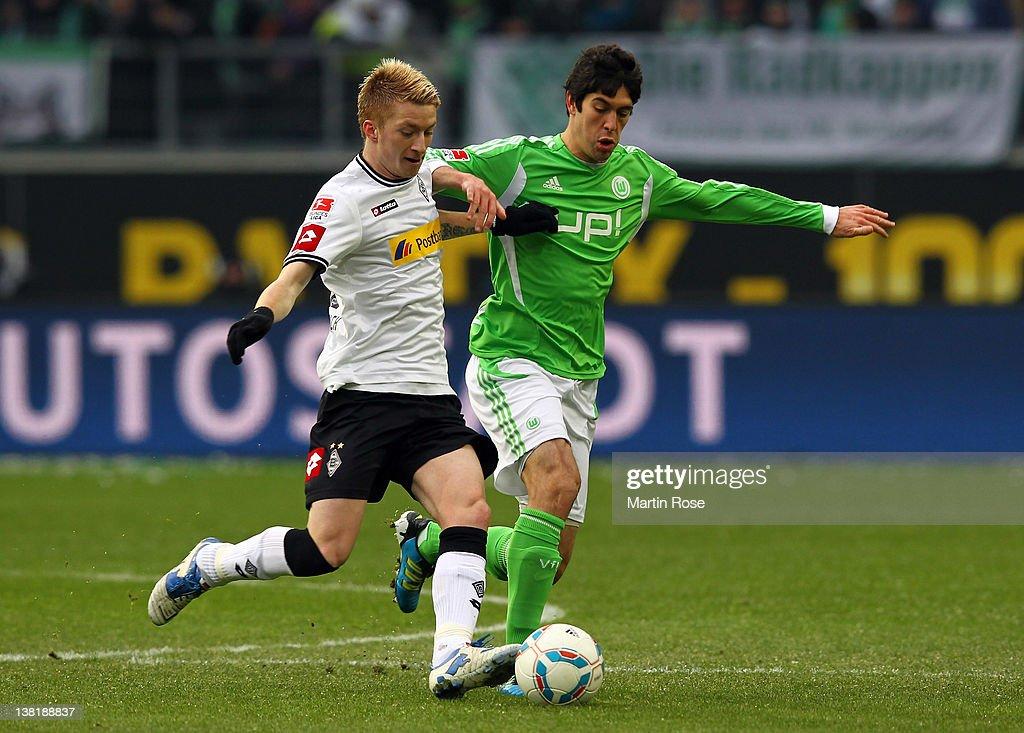 VfL Wolfsburg v Borussia Moenchengladbach  - Bundesliga : Nachrichtenfoto