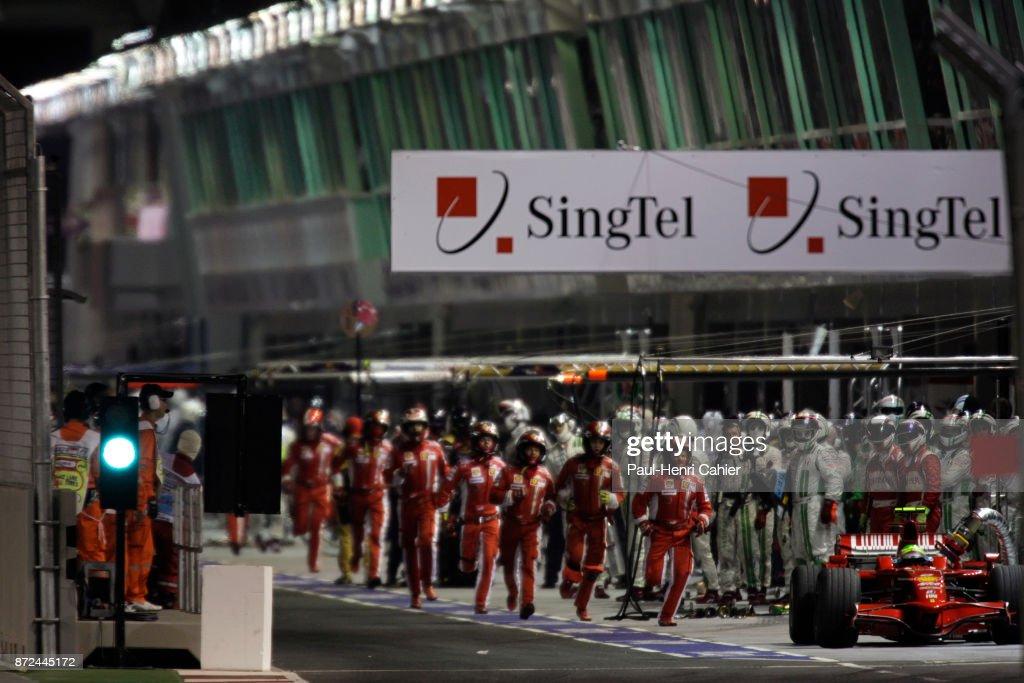 Felipe Massa, Grand Prix Of Singapore : News Photo