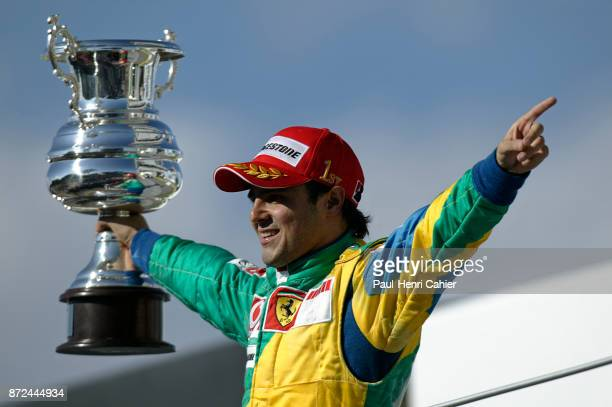 Felipe Massa, Grand Prix of Brazil, Autodromo Jose Carlos Pace, Interlagos, Sao Paolo, 22 October 2006. Felipe Massa won the final race of the 2006...