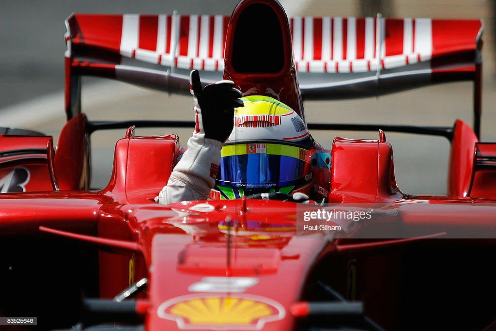 Brazilian Formula One Grand Prix: Qualifying : News Photo