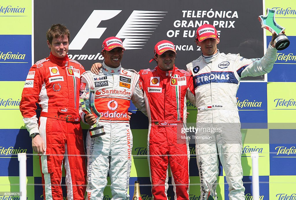European Formula One Grand Prix: Race : News Photo