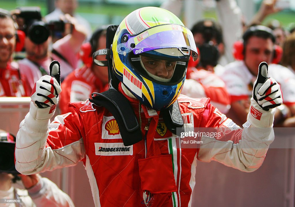 French Formula One Grand Prix: Qualifying : News Photo