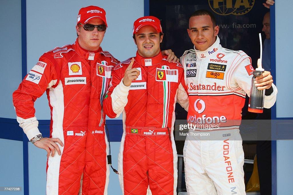 Brazilian Formula One Grand Prix: Qualifying : News Photo