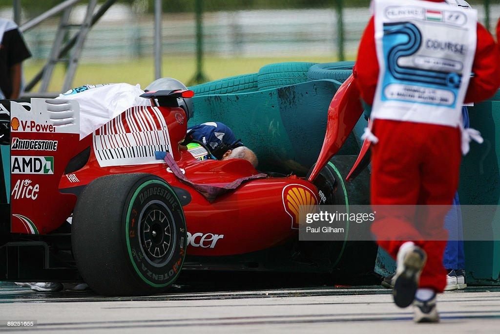 F1 Grand Prix of Hungary - Qualifying : News Photo