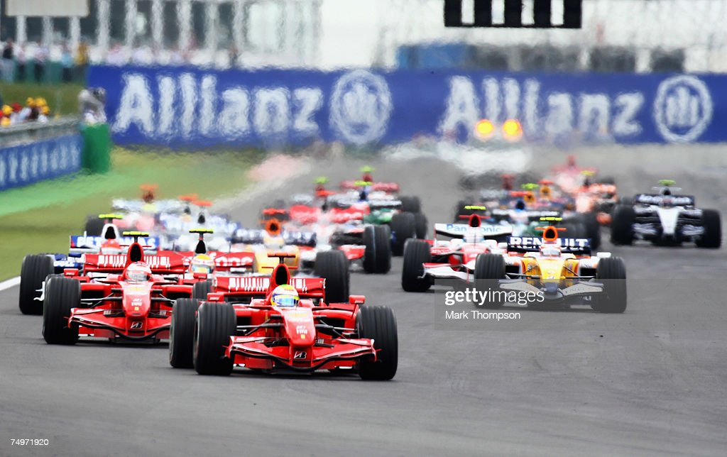 French Formula One Grand Prix: Race : News Photo