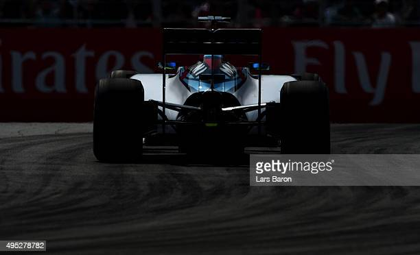 Felipe Massa of Brazil and Williams drives during the Formula One Grand Prix of Mexico at Autodromo Hermanos Rodriguez on November 1 2015 in Mexico...