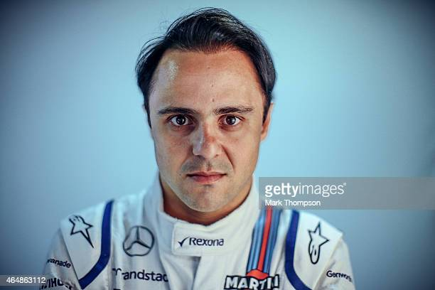 Felipe Massa of Brazil and Williams poses for a portrait during day three of Formula One Winter Testing at Circuit de Catalunya on February 21, 2015...