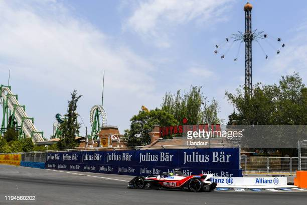 Felipe Massa of Brazil for Rokit Venturi Racing team drives during the E-Prix Antofagasta Minerals as part of the third round of the ABB FIA Formula...