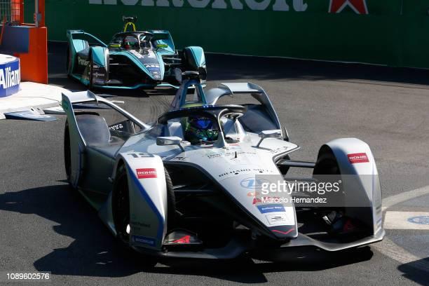Felipe Massa of Venturi team drives as part of the qualifying during the 2019 Antofagasta Minerals Santiago E-Prix as part of Formula E 2019 season...