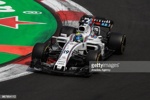 Felipe Massa of Williams Martini Racing drives during the Formula One Grand Prix of Mexico at Autodromo Hermanos Rodriguez in Mexico City Mexico on...