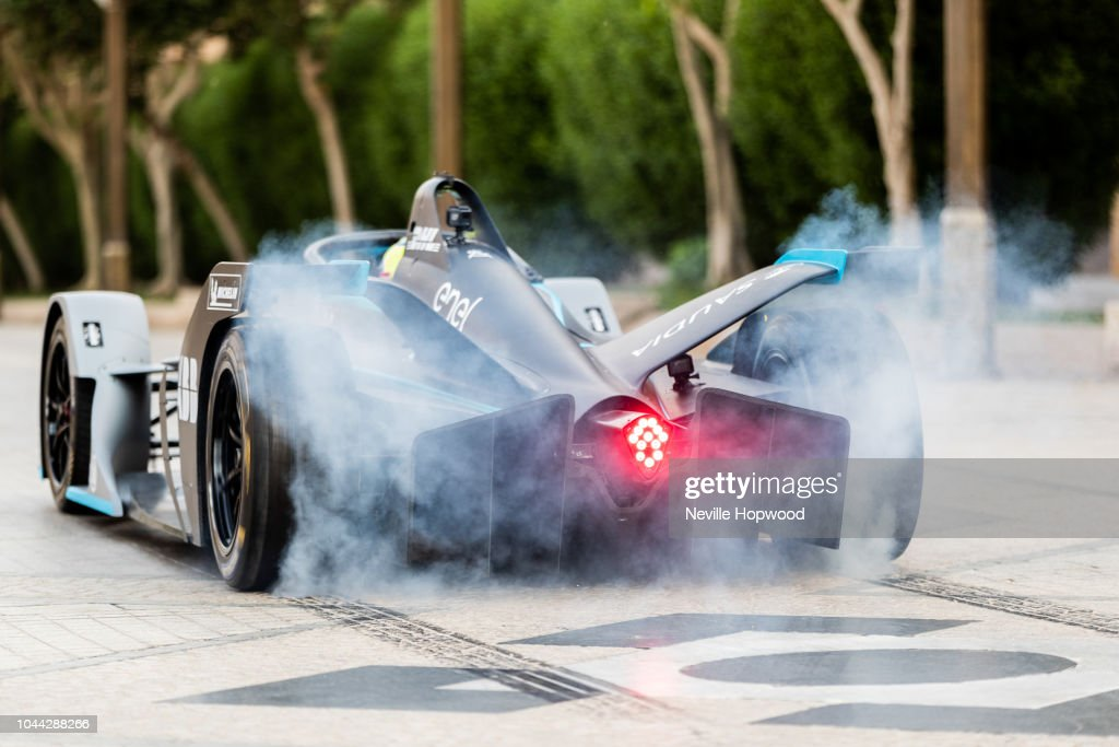 Felipe Massa launches new SAUDIA Ad Diriyah E-Prix at the Ad Diriyah UNESCO Heritage site Saudi Arabia - ahead of The ABB FIA Formula E Championship - Season 5 opening race