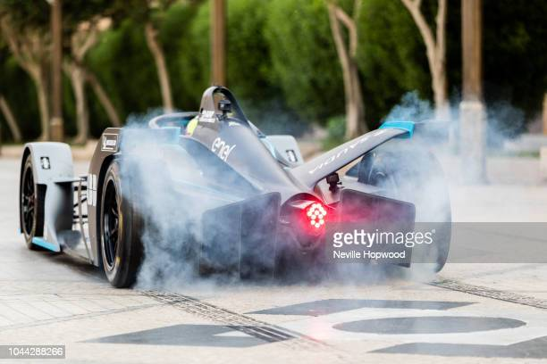 Felipe Massa officially launches the new SAUDIA Ad Diriyah EPrix at the Ad Diriyah UNESCO Heritage site Saudi Arabia ahead of the Season 5 Opening...