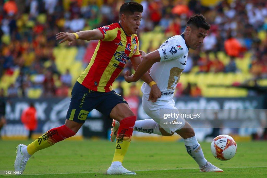 Morelia v Pumas UNAM - Torneo Apertura 2018 Liga MX